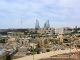Панорама Баку. Азербайджан