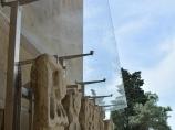 Дворец Ширваншахов. Коллекция камней с надписями и рисунками из ныне недоступной для туристов Баиловской крепости
