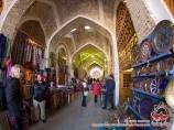 Coupole de commerce Tyme d`Abdoulla-khan. Boukhara, Ouzbékistan