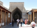 Coupole de commerce Toqi Telpak fourouchone. Boukhara, Ouzbékistan