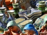 Coupole de commerce Toqi-sarrafon. Boukhara, Ouzbékistan