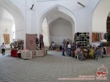 Taki Zargaron Domed Shopping Arcade. Bukhara, Uzbekistan