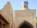 Taki Sarrafon Domed Shopping Arcade. Bukhara, Uzbekistan