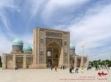 Madraza Barak-Khan (XVI s.). Tashkent, Uzbekistán