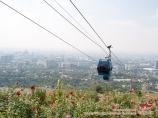 Ropeway. Almaty, Kazakhstan