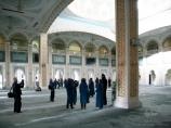 Moschee Hazrat Sultan. Nur-Sultan, Kasachstan