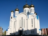 Cathédrale Uspensky. Astana, Kazakhstan