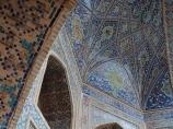 Tilla-Qori Madrasah (XVII c). Uzbekistan, Samarkand