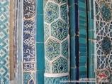 Complexe Shahi Zinda. Samarkand, Ouzbékistan