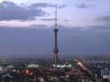 Tashkent TV tower. Uzbekistan