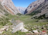 Долина реки Урям. Баткенский район, Кыргызстан