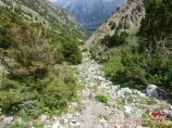 Подъем на перевал Удобный (4140 м). Баткенский район, Кыргызстан