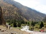 Река Ак-Мечеть. Баткенский район, Кыргызстан