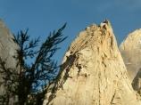 Скалы ущелья Каравшин. Баткенский район, Кыргызстан