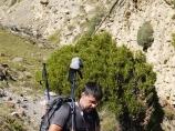 Перевал Упоным. Баткенский район, Кыргызстан