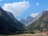 Ущелье Кара-су, пик Кара-су. Баткенский район, Кыргызстан