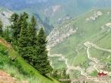 Col Moldo-Ashuu (3110m), région de Naryn. Kirghizstan