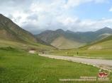 Караван-сарай Таш-Рабат (XV в). Кыргызстан