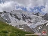 El pico Petrovskiy. Pamir, Kirguistán