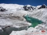 Ледник Ленина. Пик Ленина, Памир, Кыргызстан