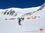 Campo 2 (5300m). Pico Lenin, Pamir, Kirguistán