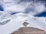 Ascent to the camp 3 (6100m). Lenin peak, Pamir, Kyrgyzstan