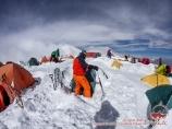 Второй лагерь (5300м). Пик Ленина, Памир, Кыргызстан