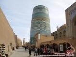Minaret Kalta-Minar. Ouzbékistan, Khiva