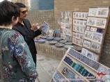 Commerce dans l'une des rues anciennees (Khiva, région de Khorezm, Ouzbékistan)