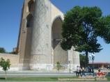 Mosquée Bibi-Khanoum. Samarkand, Ouzbékistan