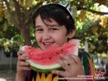 Pastèques ouzbeks. Melons de l'Ouzbékistan
