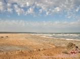Shore. Mer d'Aral, Ouzbékistan