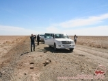 On the way to the Aral Sea. Uzbekistan