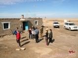 Village Ourga. Ouzbékistan