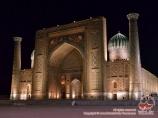 La médersa Sherdor («Logis des lions»). Réguistan, Samarkand