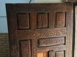 Sculpture bois en Ouzbékistan