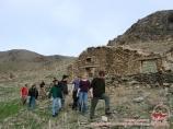Развалины кишлака. Нуратинские горы, Узбекистан