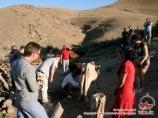 Поселок Хаят. Нуратинские горы. Узбекистан