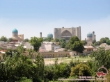 Панорама Самарканда. Тур в Узбекистан