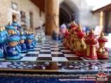Сувенирные шахматы в Узбекистане