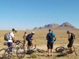 Подготовка к старту. Нуратинские горы. Велотур в Узбекистане