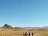 Начало велотура. Нуратинские горы. Велотур в Узбекистане