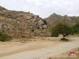 Подъем в гору. Нуратинские горы. Велотур в Узбекистане