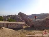 Поселок Сентяб. Нуратинские горы