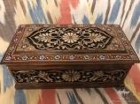 Шкатулка из дерева. Ремесленническое искусство Узбекистана