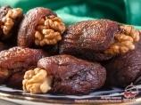 Курага с грецким орехом. Узбекистан