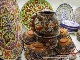 Керамическая посуда. Ремесленническое искусство Узбекистана