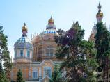 Voznesensky Cathedral in Almaty