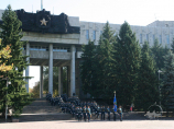 Park named after 28 Panfilov Guardsmen in Almaty, Kazakhstan