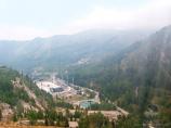 Sportanlage Medeo. Almaty, Kasachstan